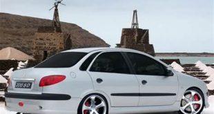 رینگ خودرو 206